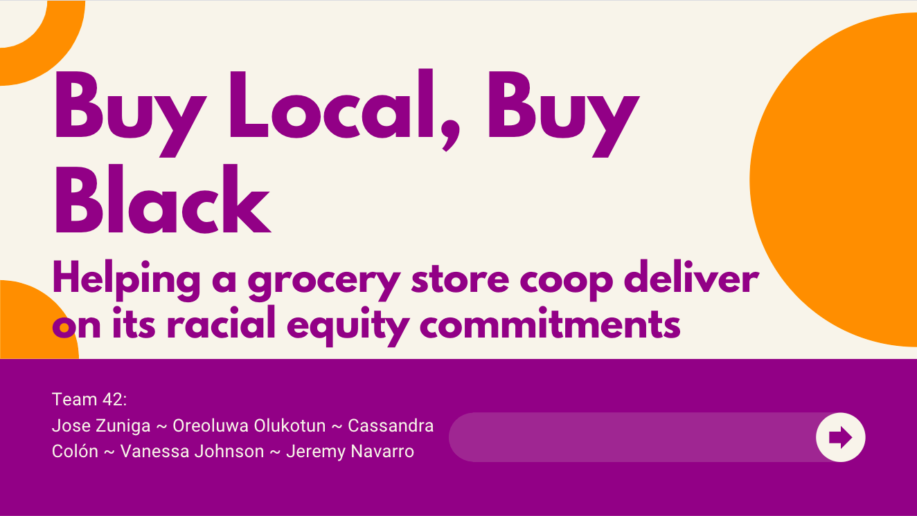 Data Science For All / Empowerment Project presentation: Buy Local, Buy Black