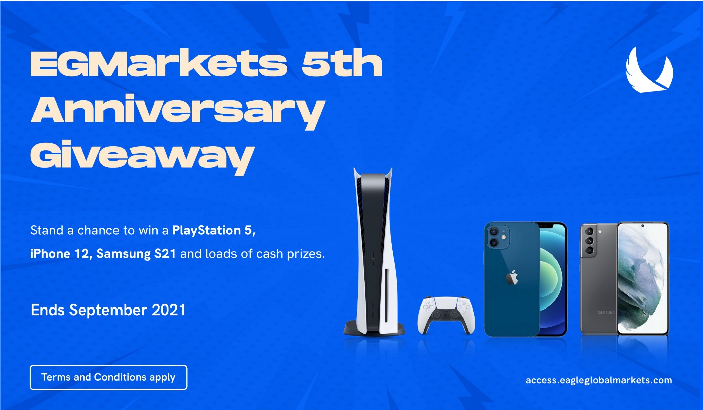 EGMarkets 5th Anniversary Giveaway
