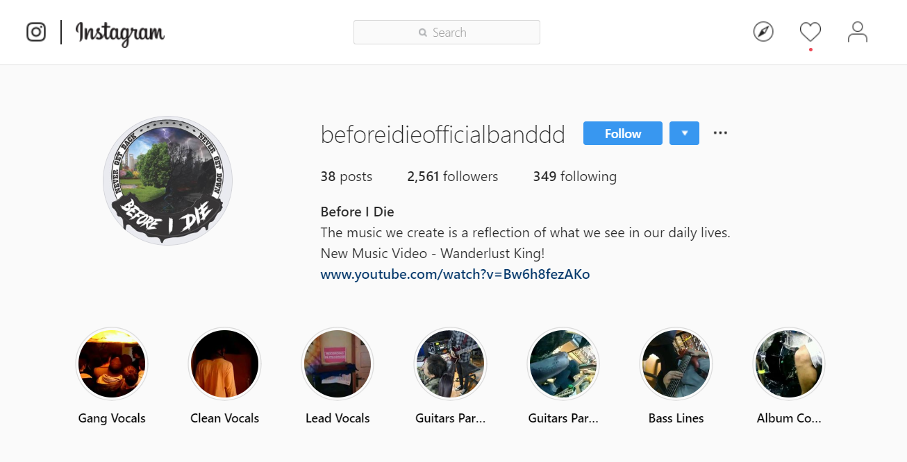 How Underground Music Bands Can Reach New Instagram Fans with Combin