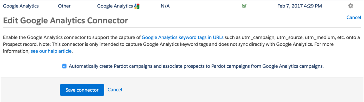 How to use Google UTM parameters and Pardot to track the Lead Source