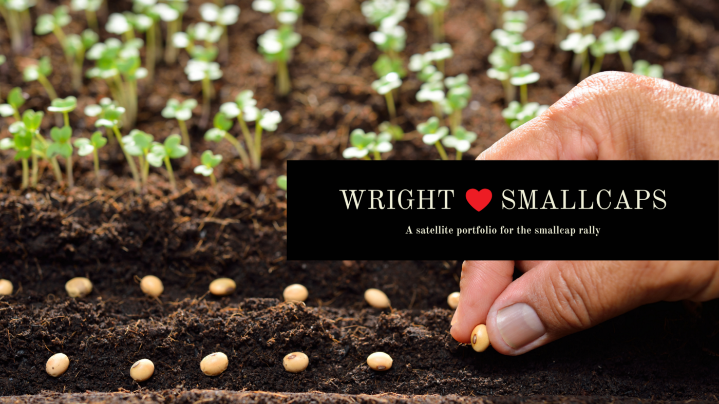 Wright ❤ Smallcaps