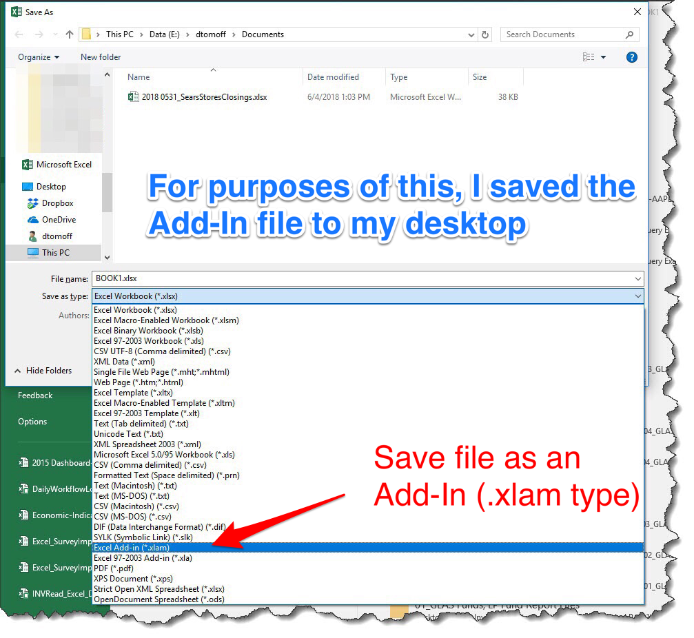 Microsoft Excel — Share Your Automation Tricks by Creating An Add-In