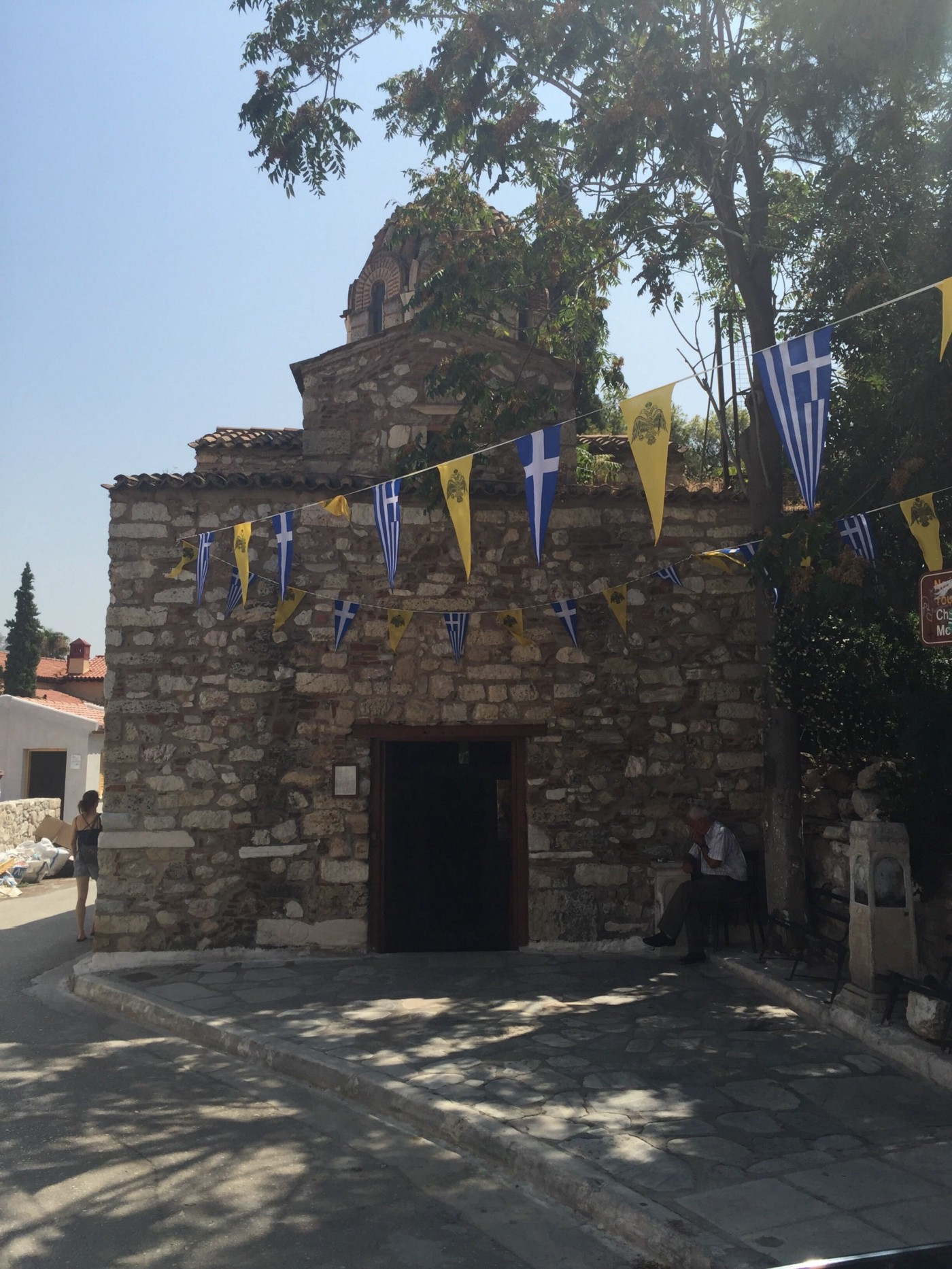 The Church of the Transfiguration—Athens, Greece