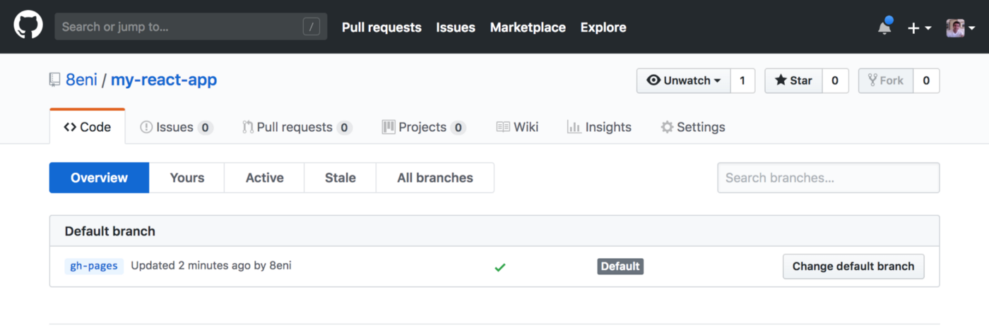 Github Pages 404