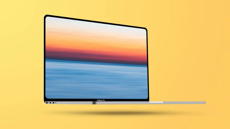 Artist concept of the redesigned MacBooks.
