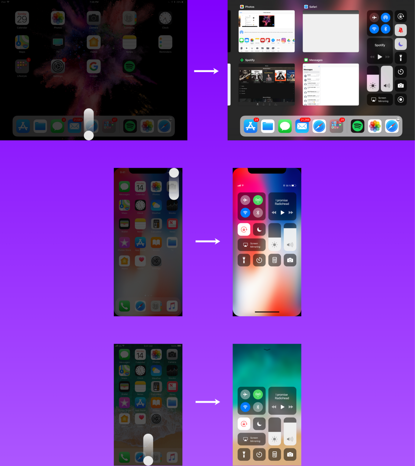 An analysis of the interactions on iOS 11 - UX Collective
