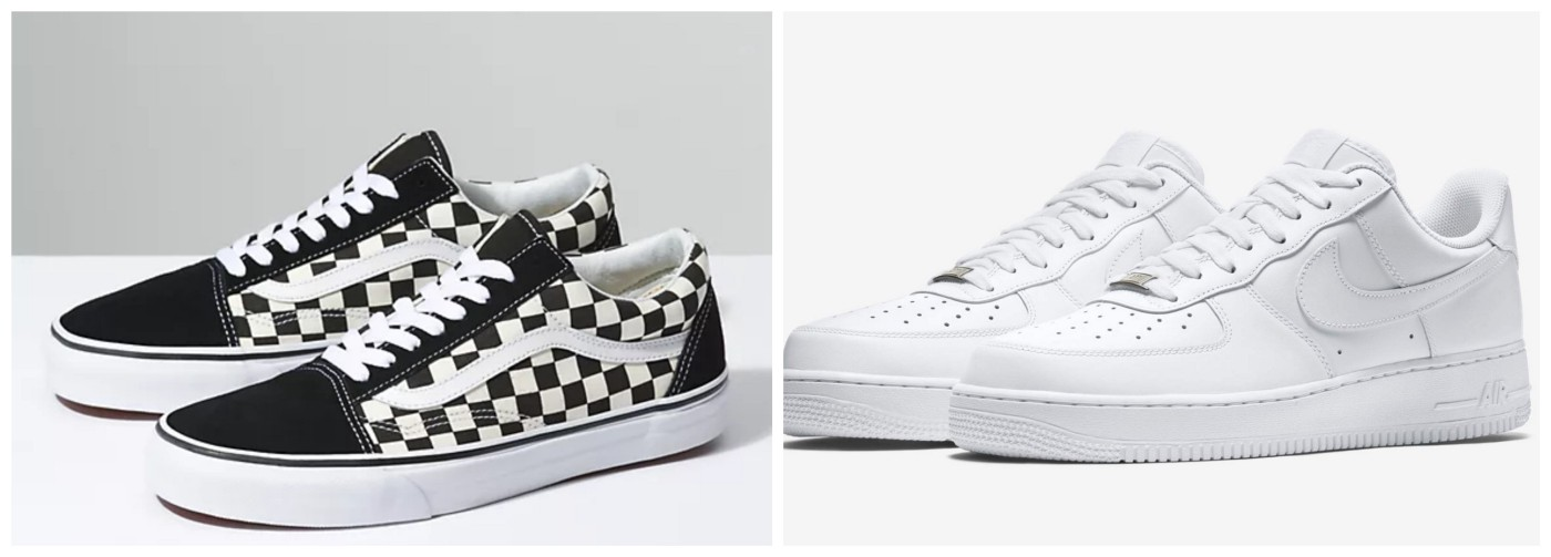Vans or Air Force 1's?. Both shoes are popular. But which do…   by ...