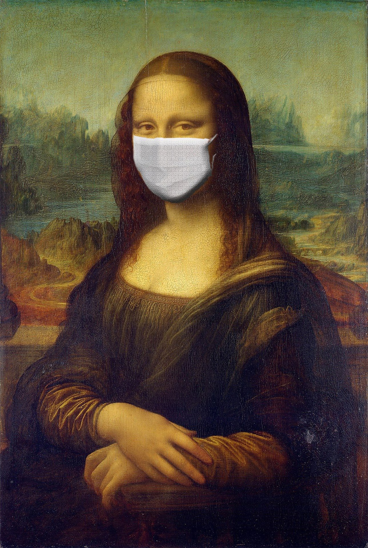 Mona Lisa Pic. downloaded from Pixabay