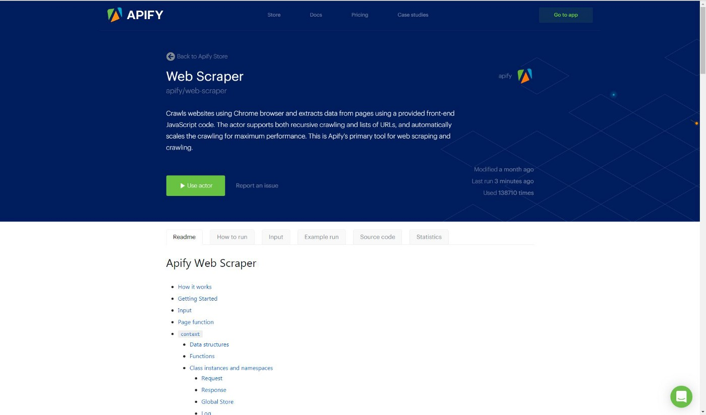 Web Scraping Example