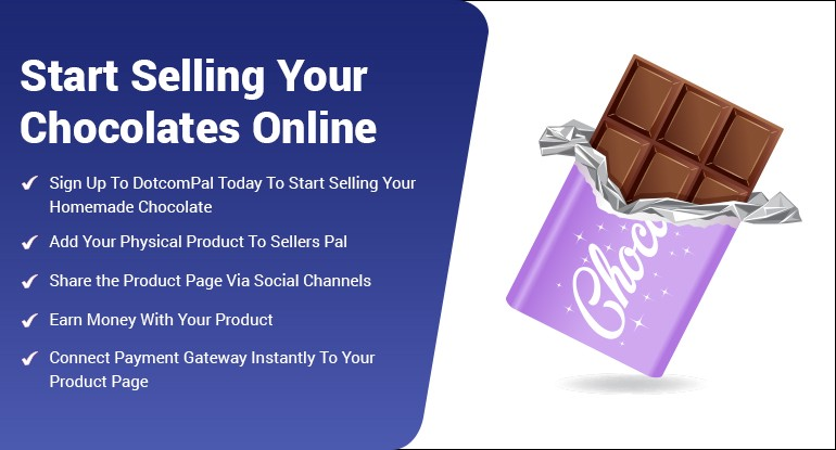 Start selling your home made chocolate with dotcompal