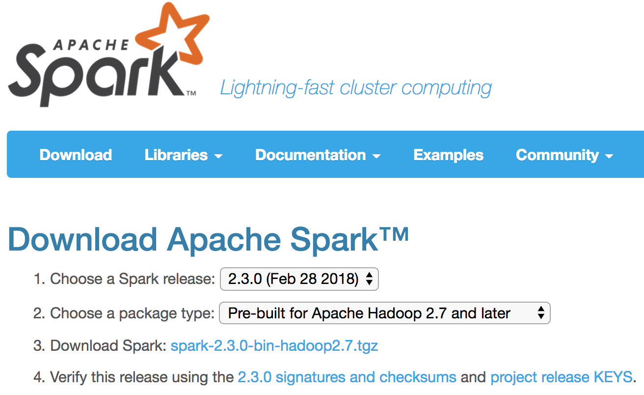 Installing Apache Spark 2 3 0 on macOS High Sierra - LuckSpark - Medium