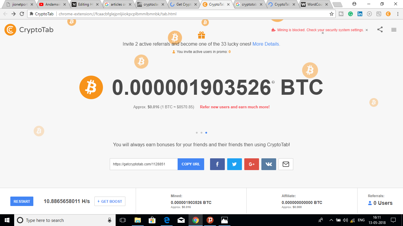 How To Earn Money 10 000 Per Month Using Crypto Tab To Bitcoin -