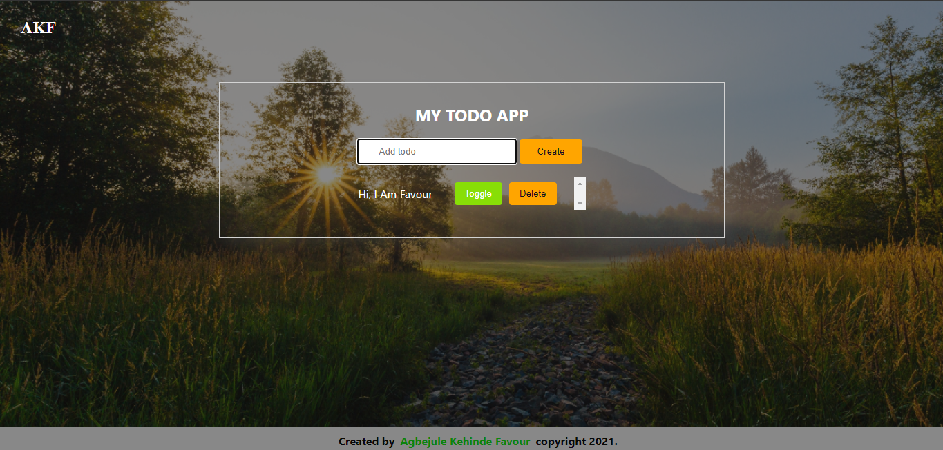 My Todo App built with the useReducer hook of React and hosted with Firebase