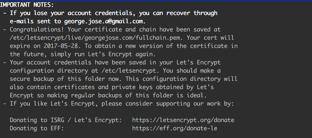 Moving my HTTP website to HTTPS using LetsEncrypt, HAProxy and Docker
