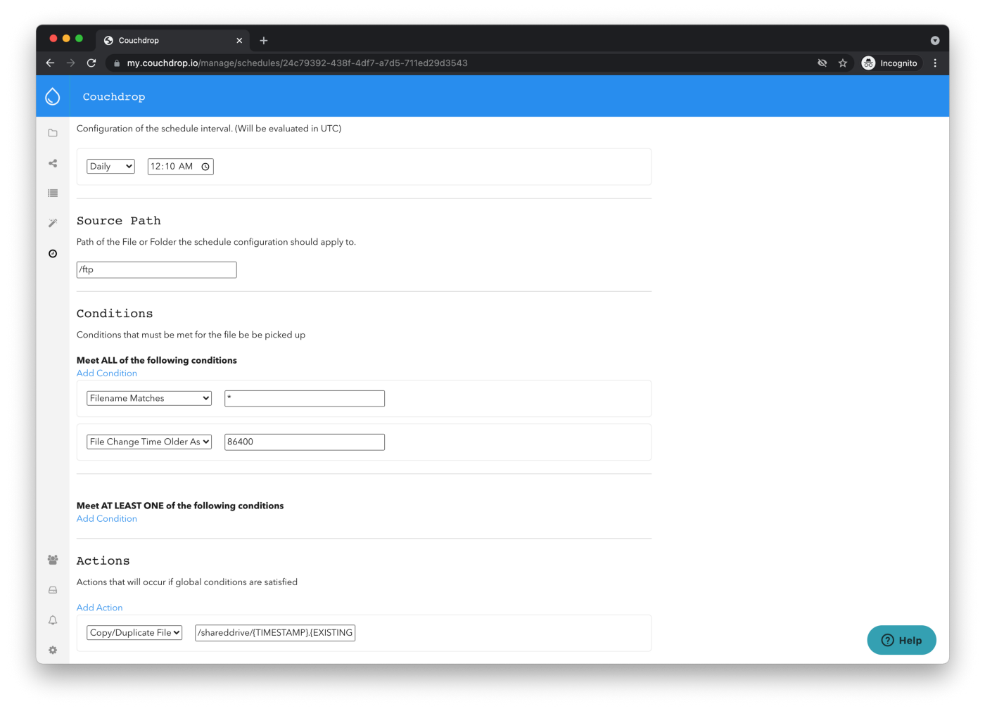 backup ftp to cloud