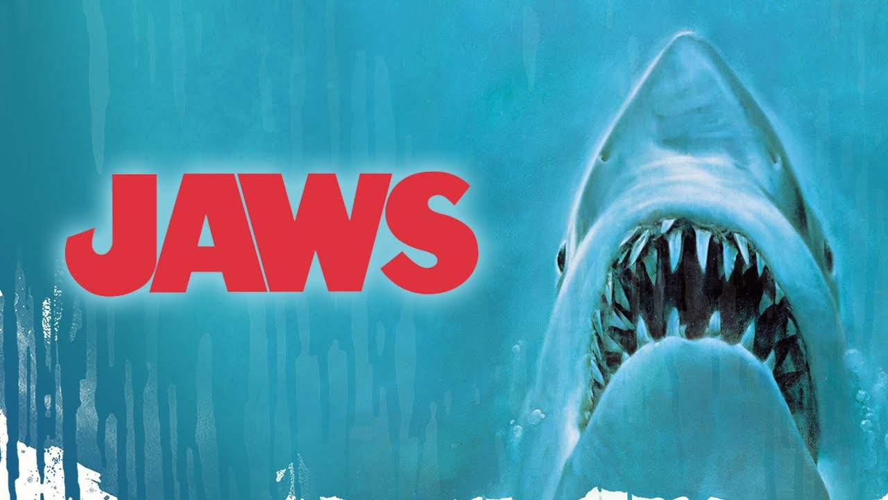 An image of Jaws swimming towards the surface