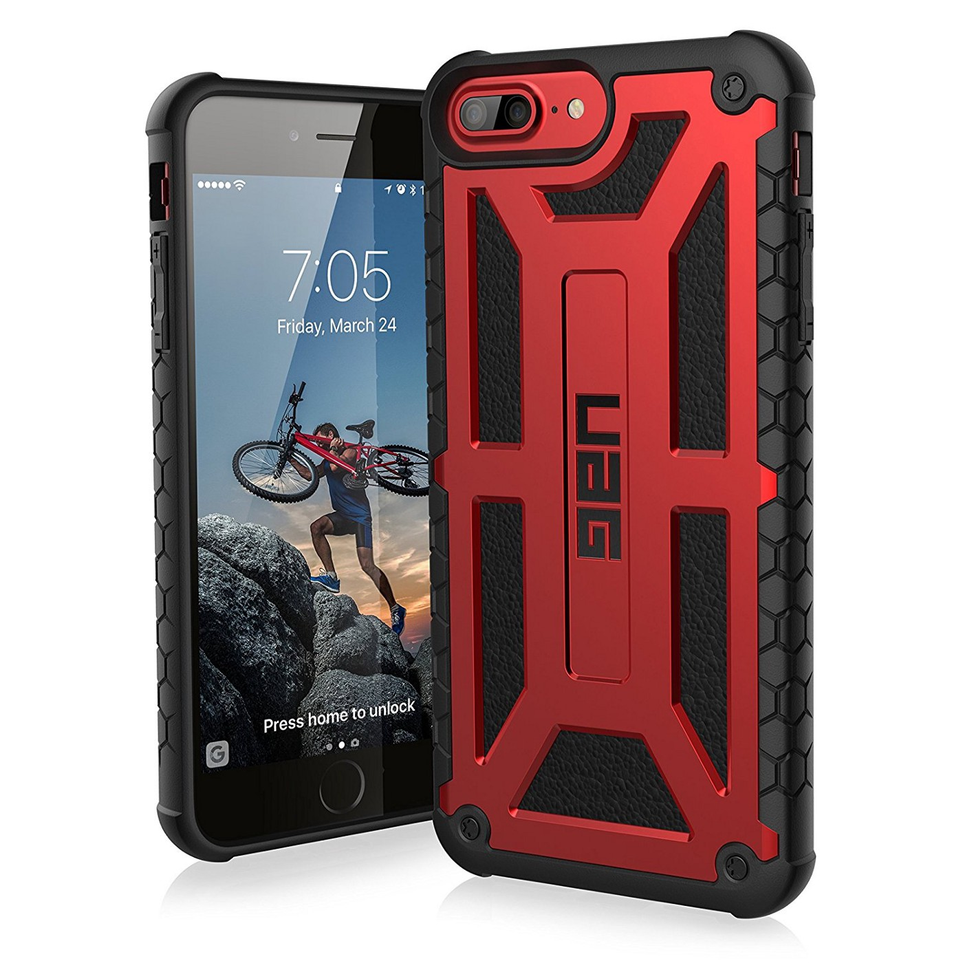 best sneakers e073d a2ecc Top 10 must have cases for Apple iPhone 8 Plus (PRODUCT)RED