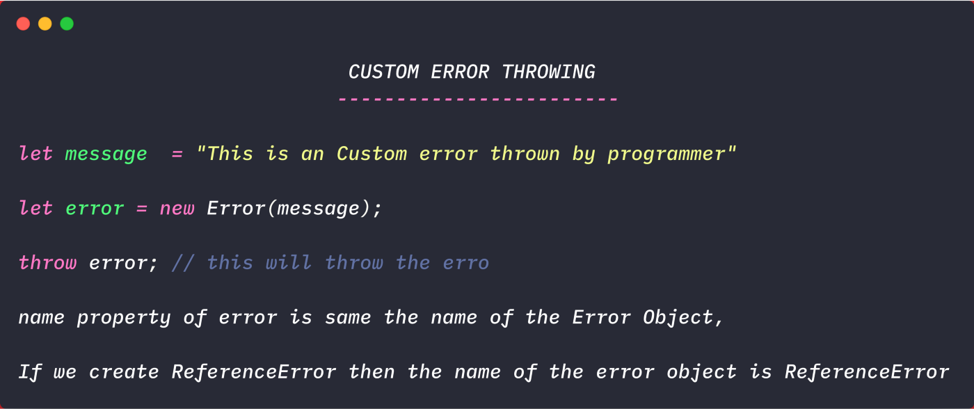 Everything you need to know about error handling in Javascript