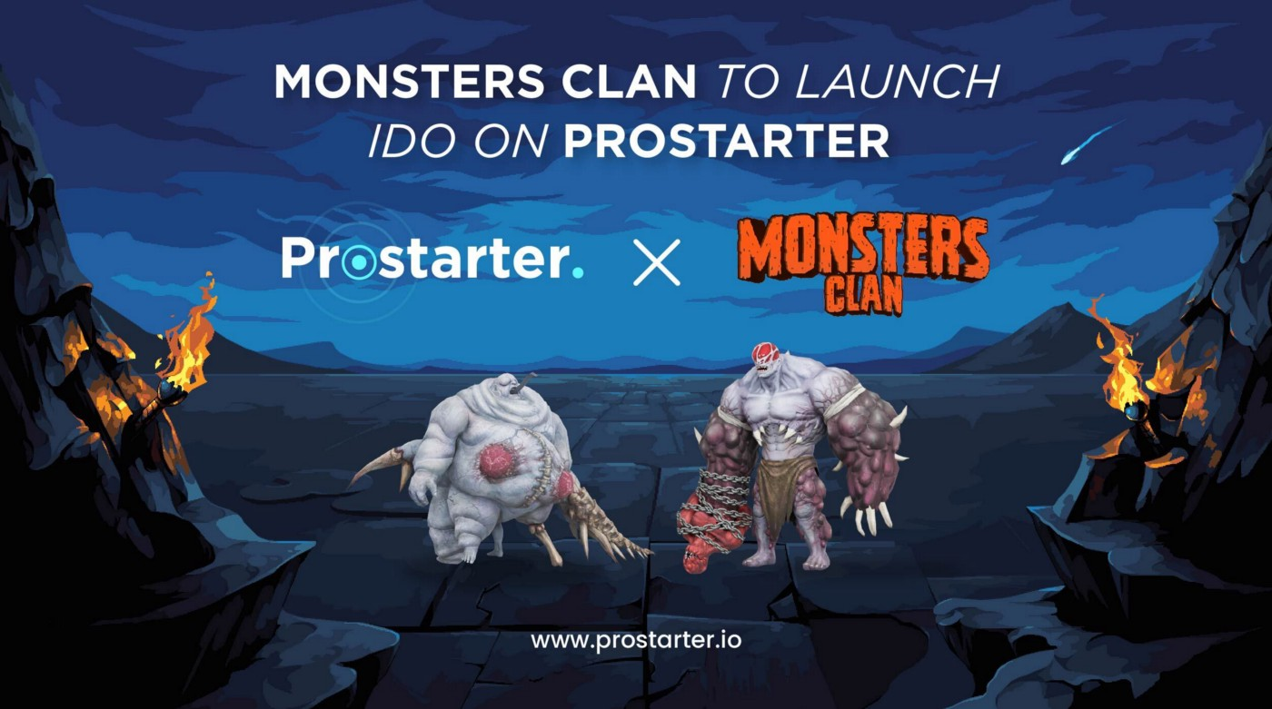 Announcing Monsters Clan IDO on Prostarter