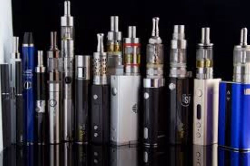 Image of vaping products and e-cigarettes