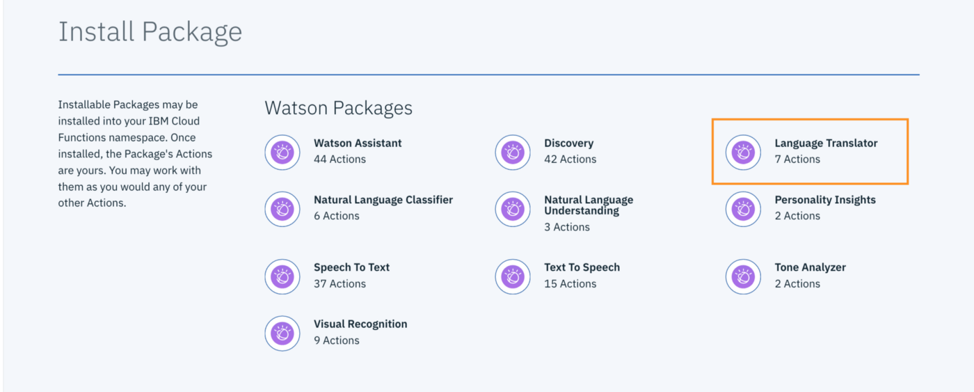 Watson Assistant: Identifying Languages - IBM Watson - Medium