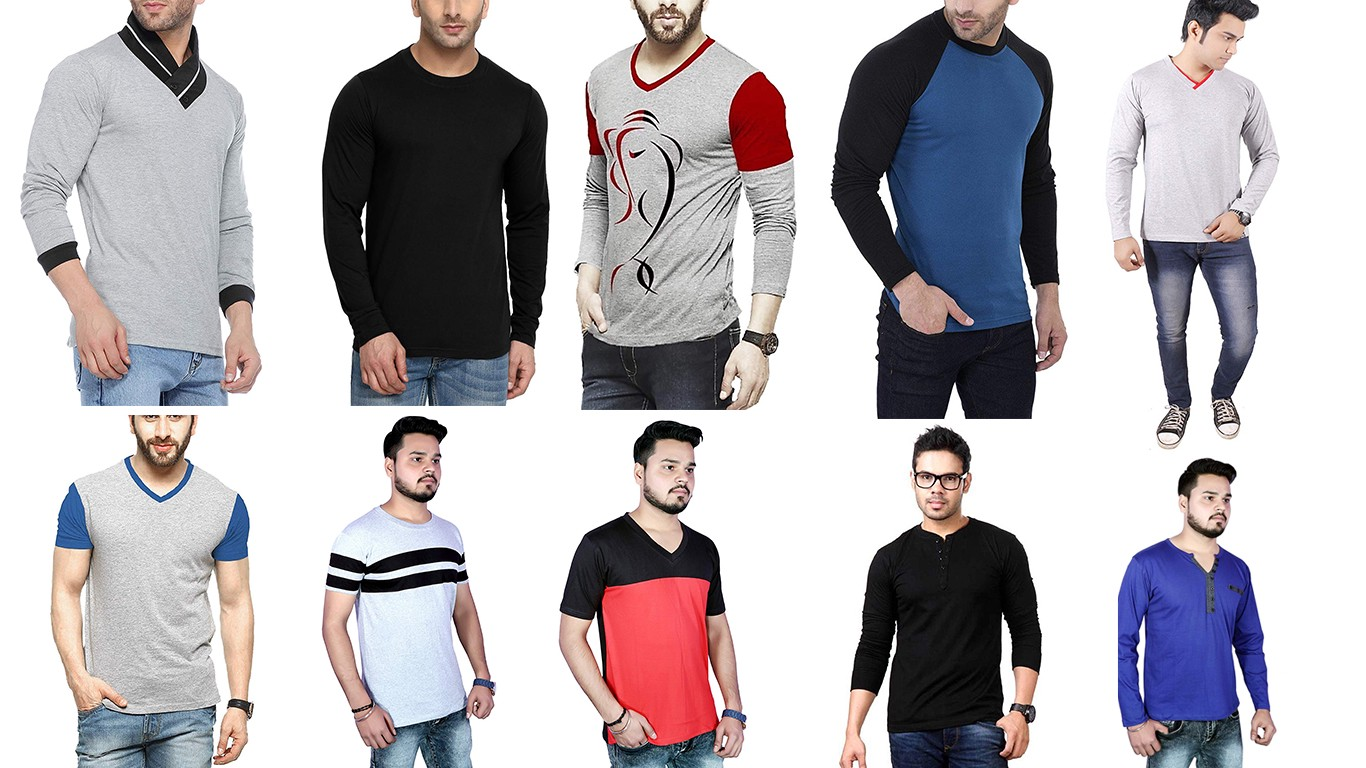 3b315dc11 An Overview of Different Men's T-Shirt Styles for Summer