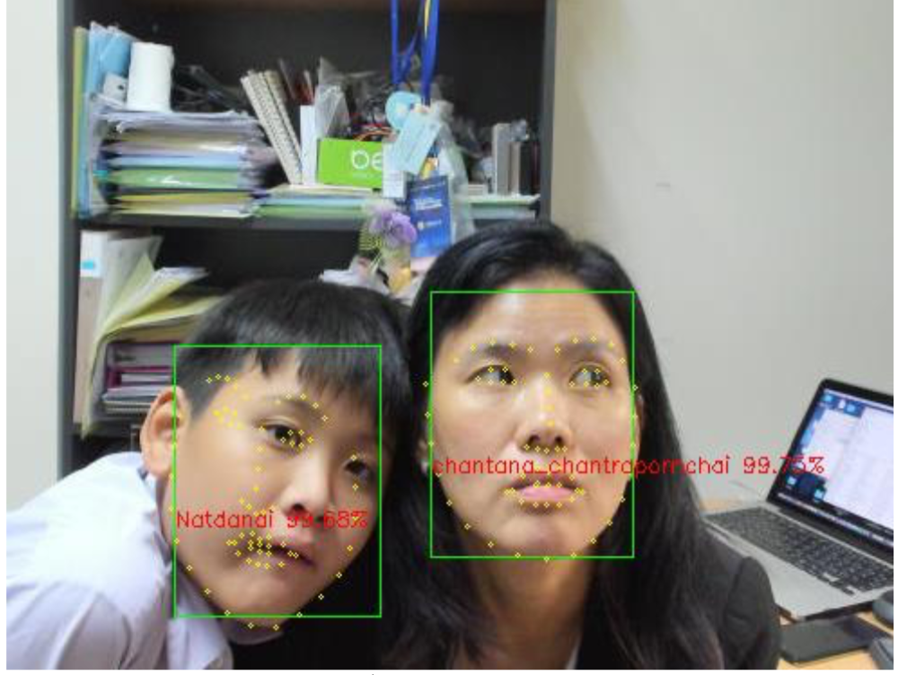 Simple face recognition with various tools - chantana