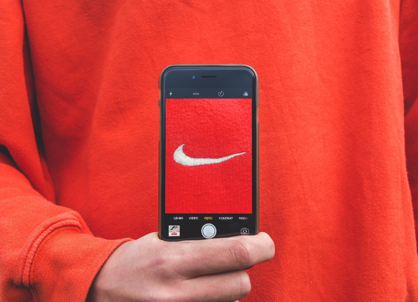 Nike logo as an example of a great branding