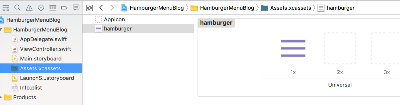 Making a Hamburger (slide-out) Menu in Swift 3 - Yay It's Erica - Medium