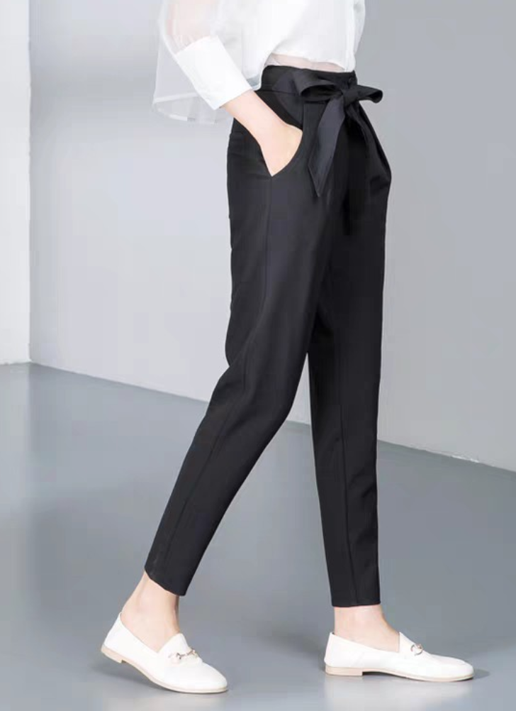 Black candy pants for women