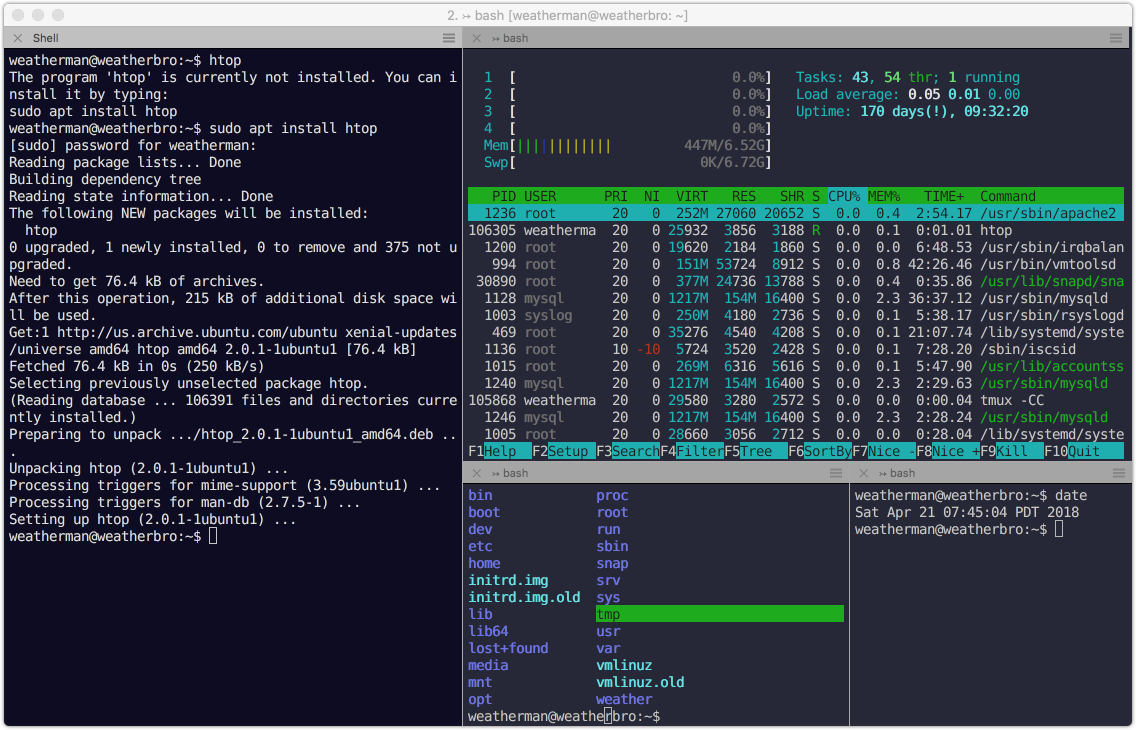 Using iTerm2's built-in integration with tmux - Dave Smith - Medium