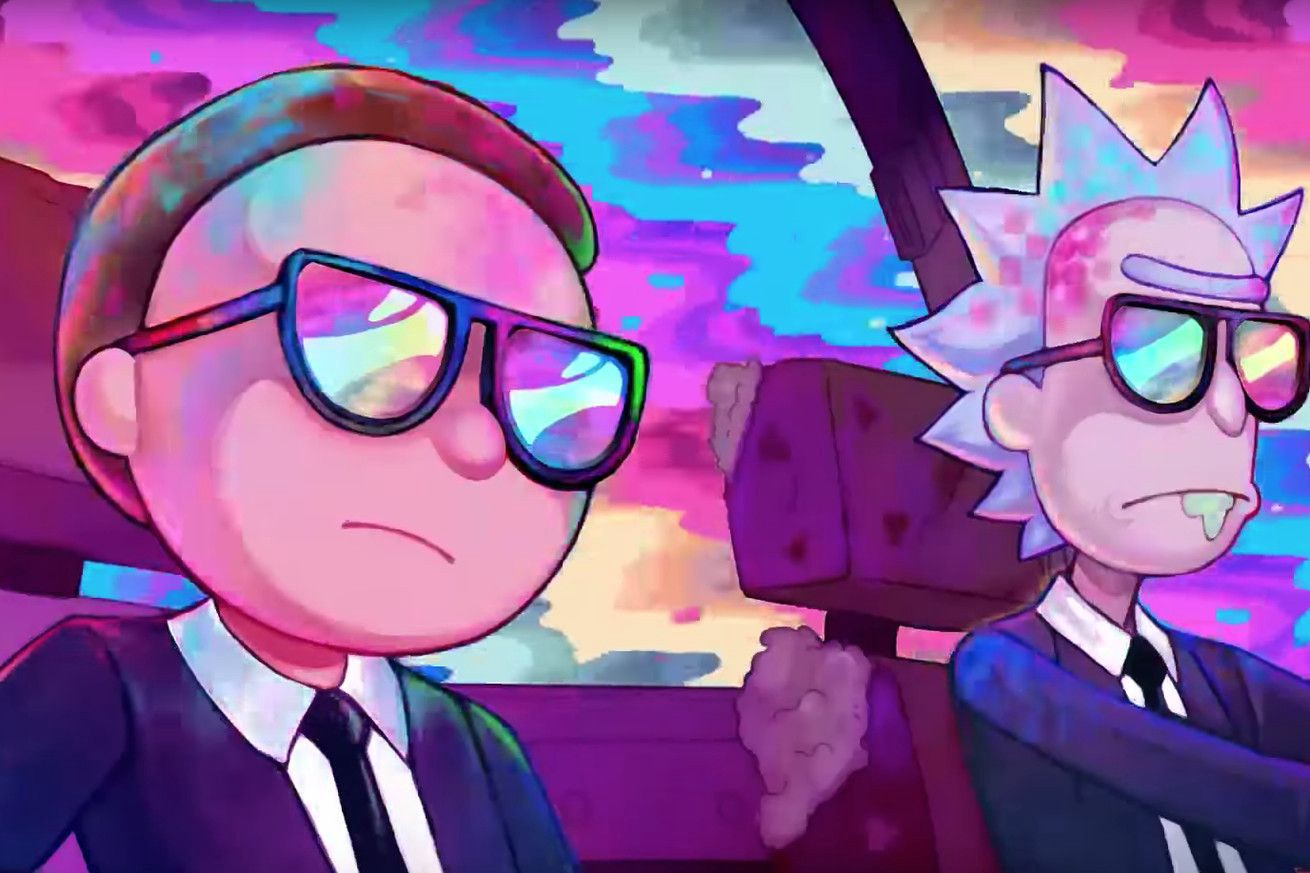 Rick and Morty artwork sold at 1 million USD on NFT crypto marketplace software