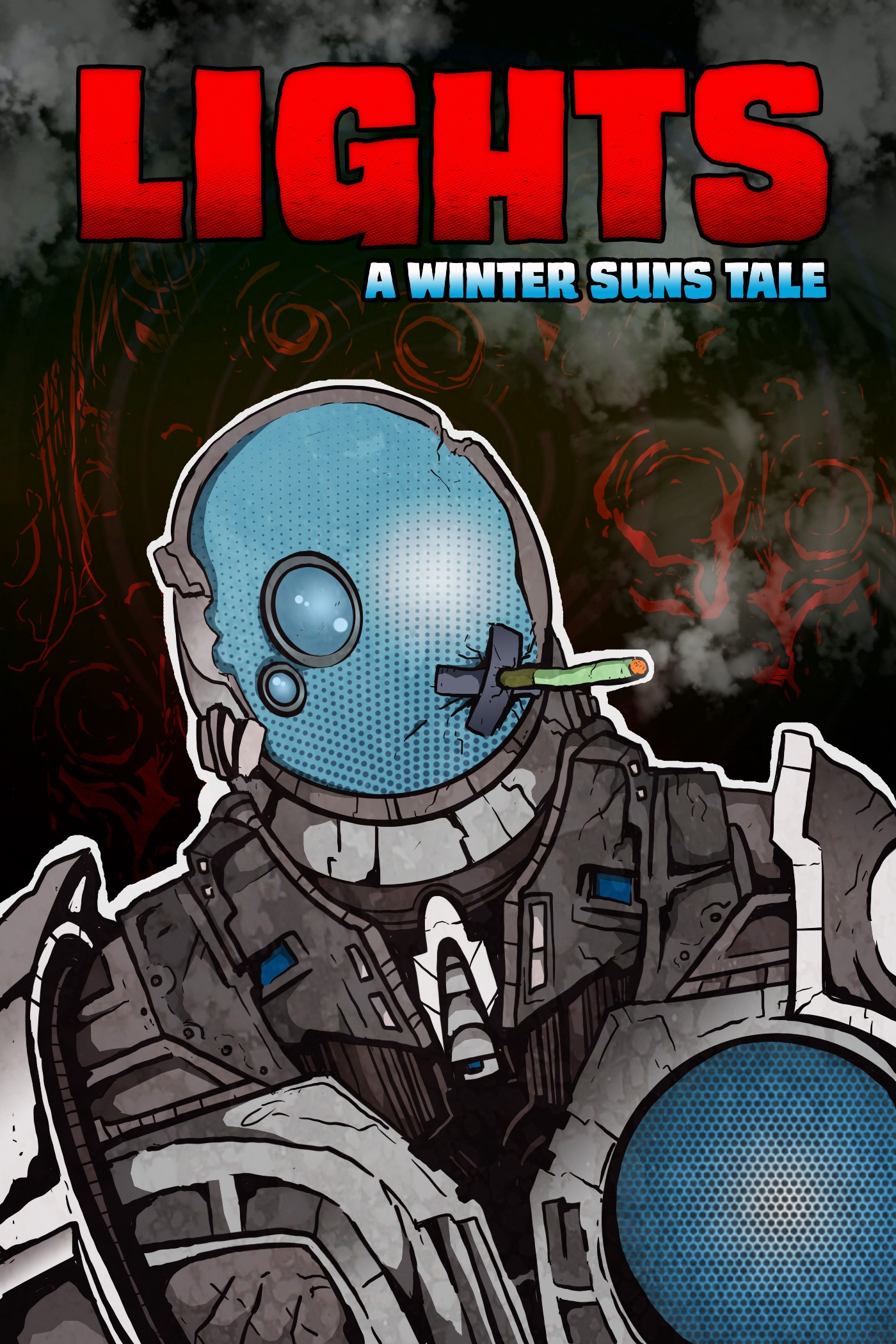 Lights—A Winter Suns tale cover of the comic.