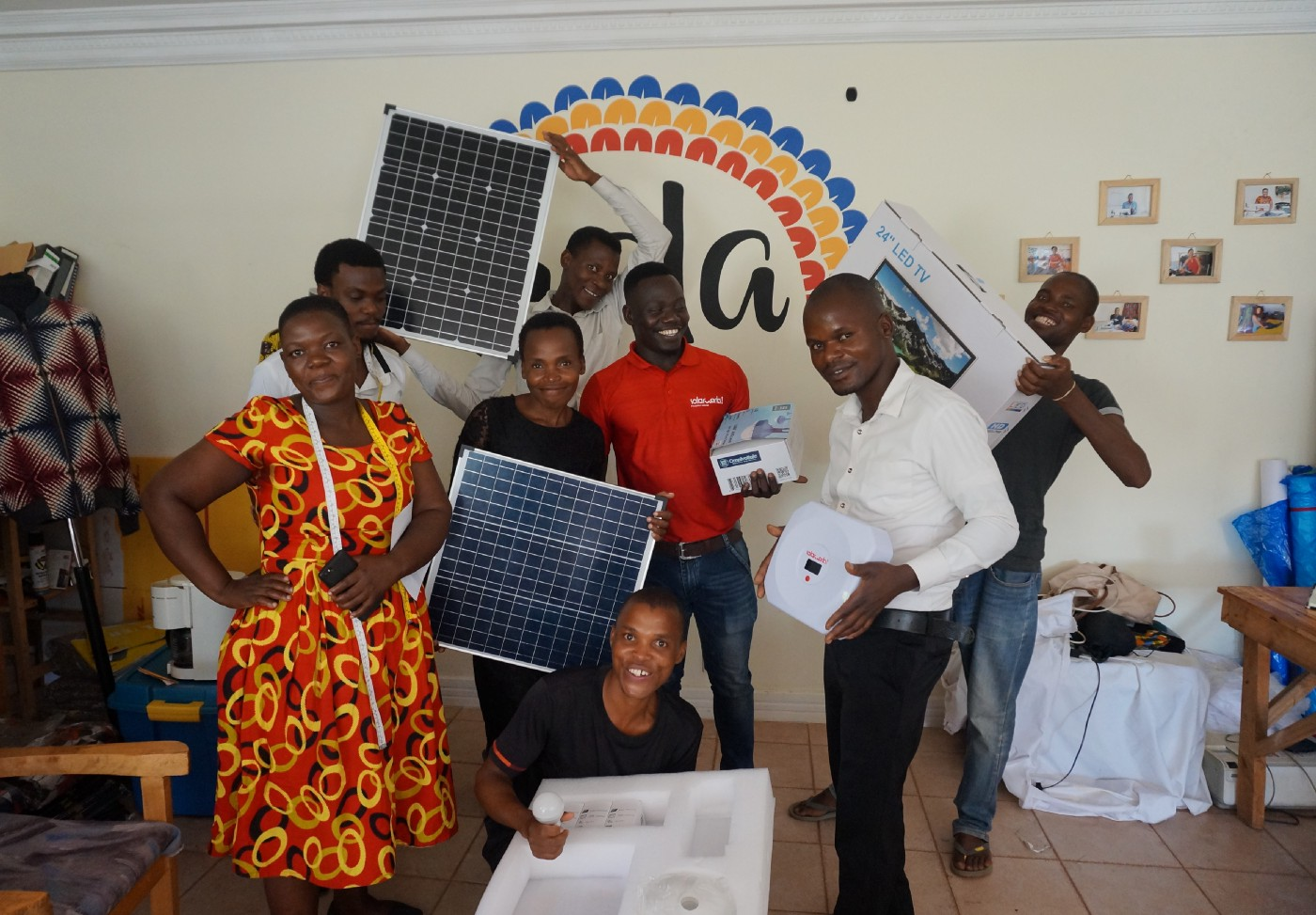 SolarWorks! has added solar TVs to its product offering
