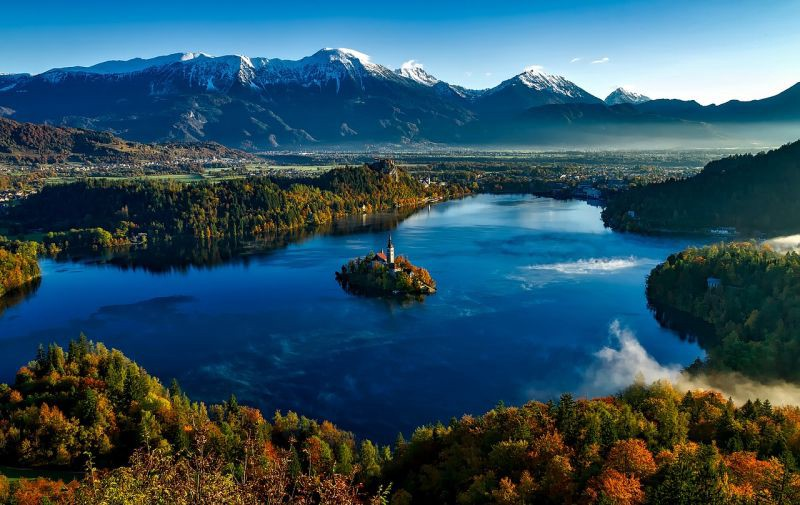 Slovenia is not unknown, but still worth exploring and in the middle of Europe