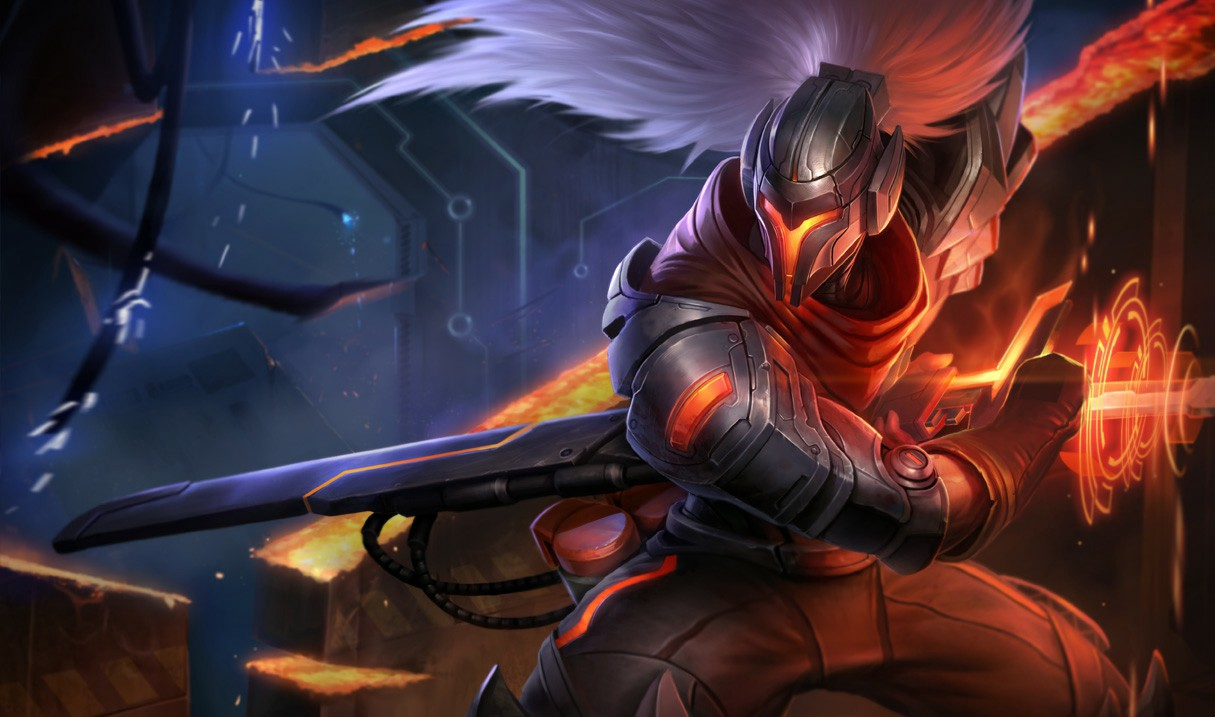 Yasuo Free Skins Codes - Ronnie T - Medium