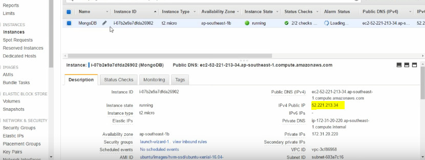 How to connect to Mongodb on AWS EC2 instance with Robomongo?