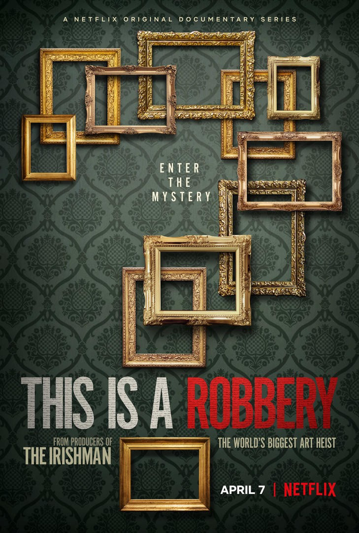 This is a Robbery poster | Netflix