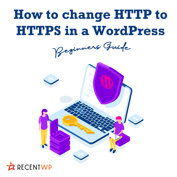 How to change HTTP to HTTPS in a WordPress site URL?