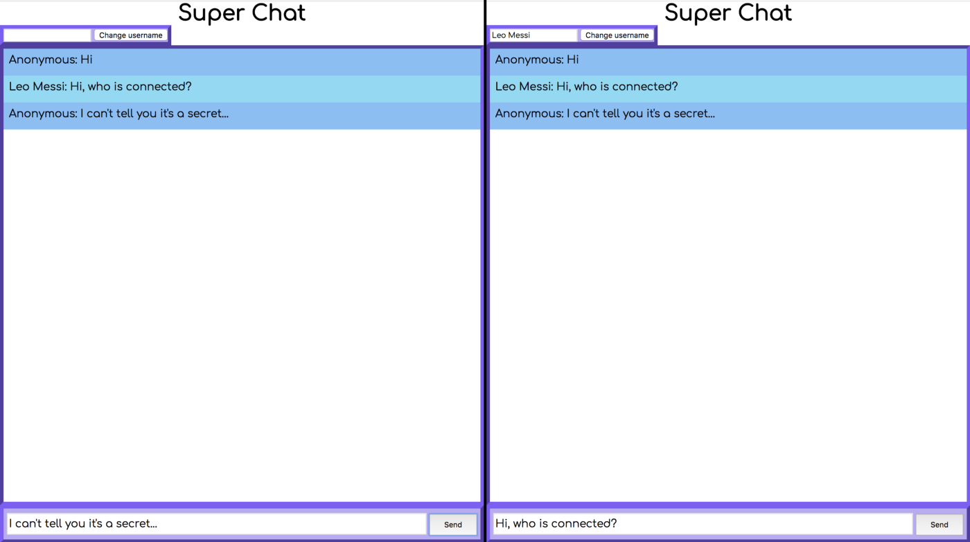 Build a simple chat app with node js and socket io - Noufel