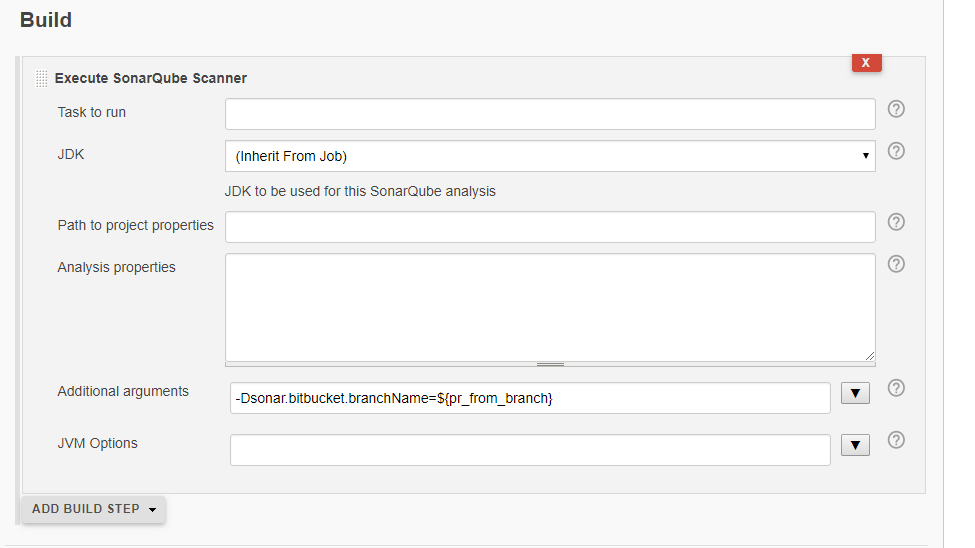 Automatically analyze code with SonarQube when a new pull request is