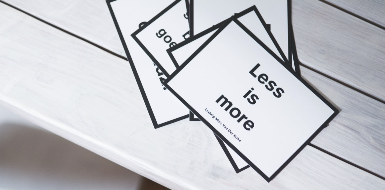 Less is more. This is what DesignOps does.