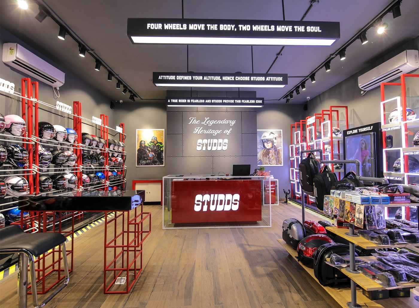 Flagship Store By D'art Design. Introducing Global Retail Identity of STUDDS