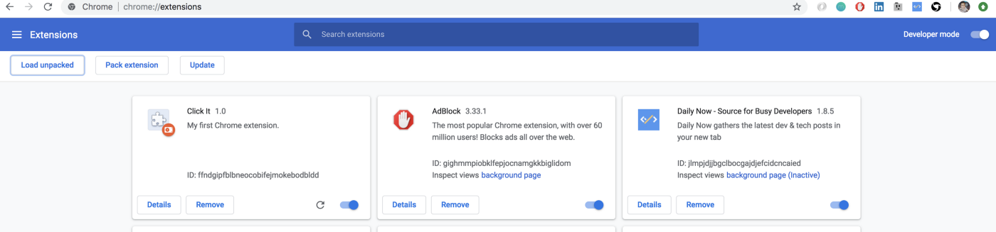 Build a simple Google Chrome Extension in few minutes