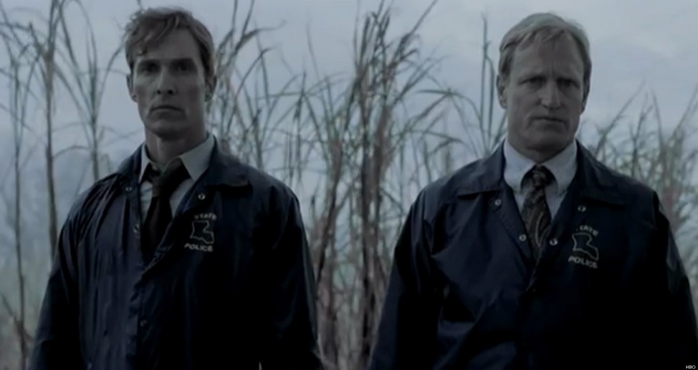 Screenshot of True Detective Season 1 — Rust and Marty — Published under Fair Use