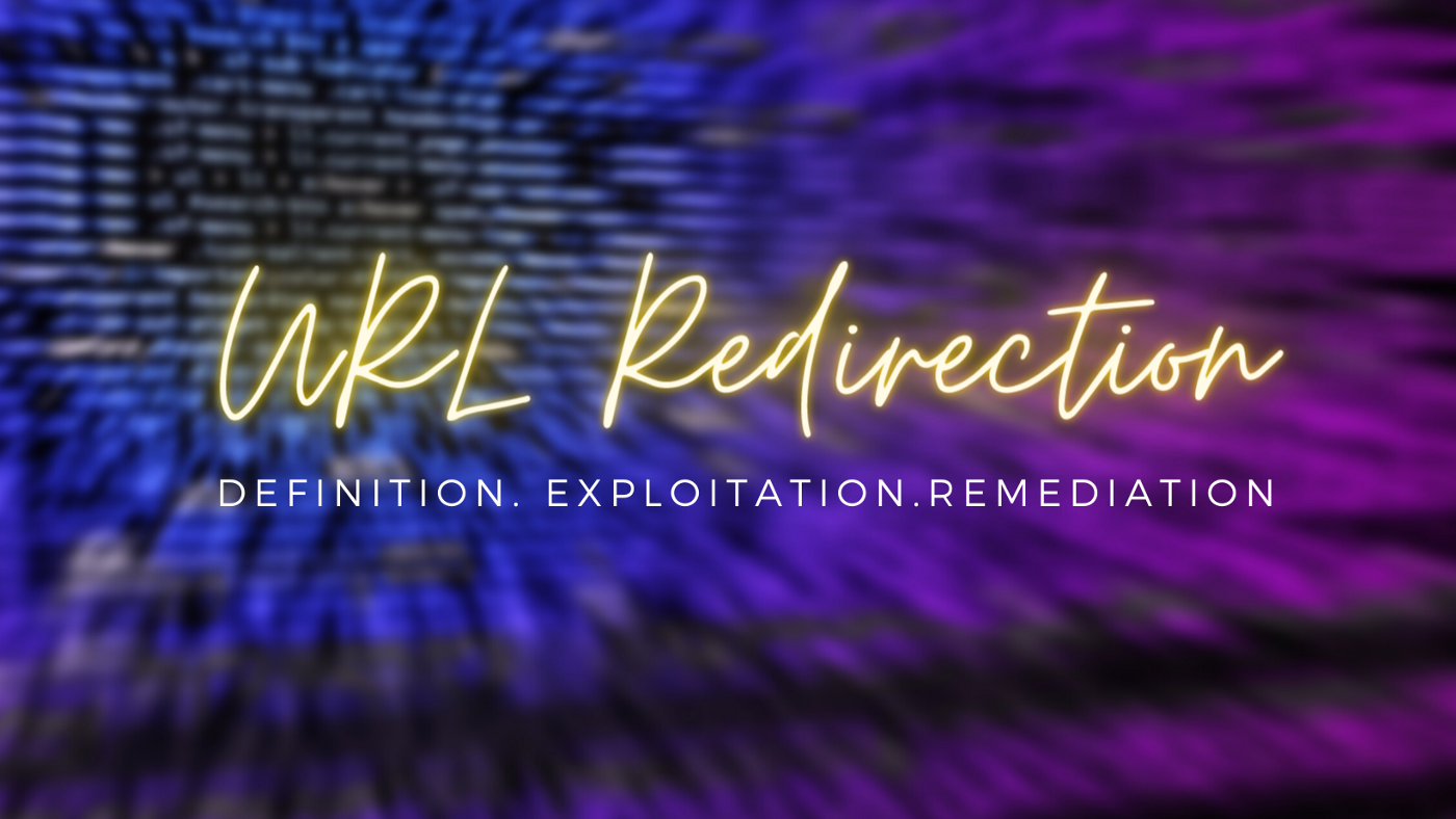 Image with text URL Redirection(Definition.Exploitation.Remediation)