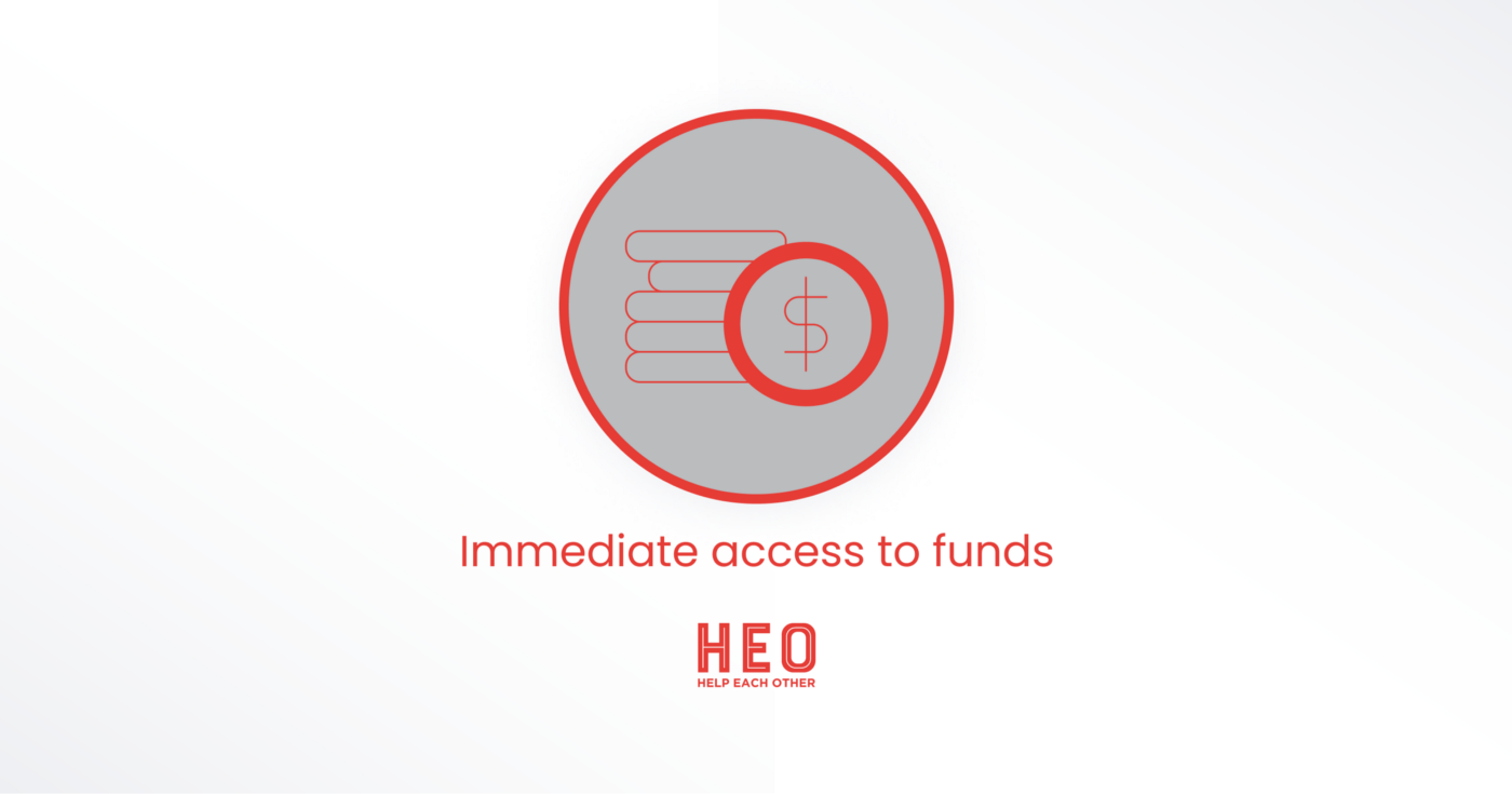 Fundraising in crypto: Immediate access to funds