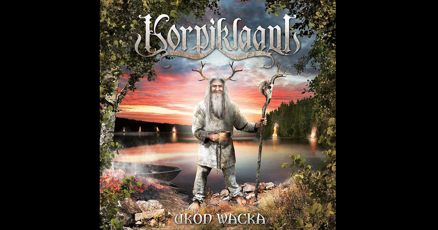 'Ukon Wacka' cover art by Korpiklaani