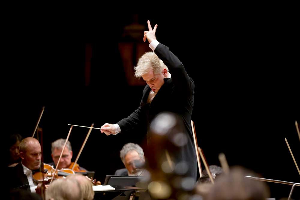 A conductor in action